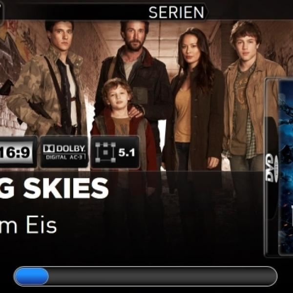 TV Series Playing Screen